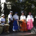 musical performers, some with drums