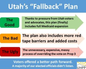 "Utah's ""fallback"" plan, the good, the bad, and the ugly"